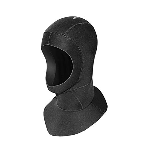 Snorkel sombrero de 3 mm de neopreno de buceo casco del salto, el general surf vela buceo Traje de buceo Casco protector, se puede utilizar para hacer snorkel, buceo con surf, kayak y otros deportes