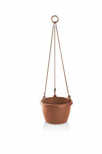 Erhard-Trading Marina Pot à fleurs suspendu auto-arrosage 20 cm (terre cuite)