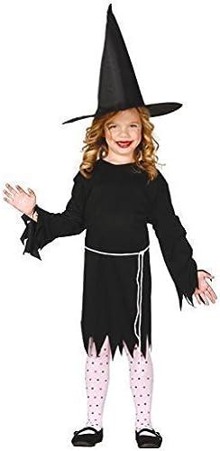 mejor calidad mejor precio Niña negro Bruja Bruja Bruja Gótico Salem Disfraz de Halloween 5-12 añoS - negro, 7-9 years  Precio al por mayor y calidad confiable.