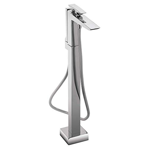 Toto TB100SF#CP Single-Handle Freestanding Tub Filler, Polished Chrome