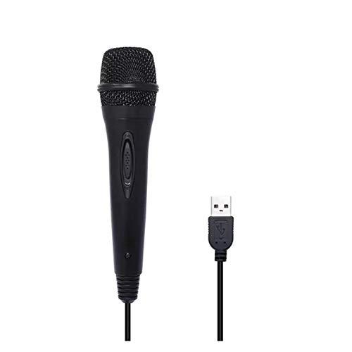 JIAYU Micrófono de PC, Compatible con Nintendo Switch PS4 Wii U Xbox 360 PS2 / PS3, Adecuado for el micrófono Externo del Gamepad de la computadora y el Canto for el portátil