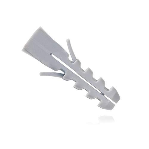 600x Spreizdübel/Allzweckdübel 12mm ohne Kragen 12x60 grau, für Schrauben 8-10mm