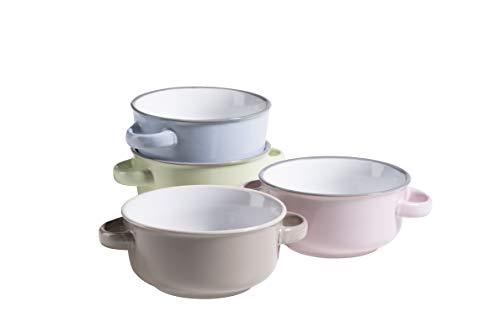 MÄSER 931611 Serie Maila - Juego de tazas de sopa para 4...