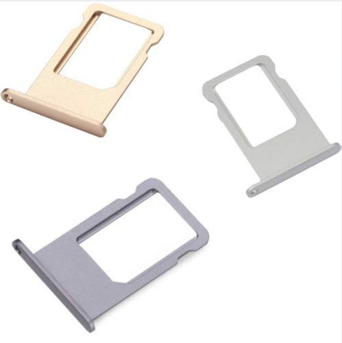 THE PERFECT PART Space Gray OEM SPEC Nano SIM Card Slot Tray Holder Replacement for Apple iPhone 6 USA New