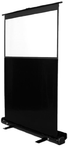 MULTIBRACKETS Leinwand transportabel 4:3,60 Z,120x90cm,Diagonale 152cm, Weiss Rahmen schwarz, leicht aufstellbar, Gain:1,0