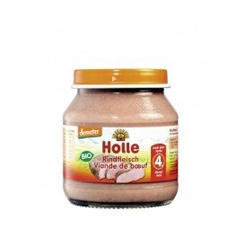 Holle - Potito 100% Ternera Holle 125 gr 4m+