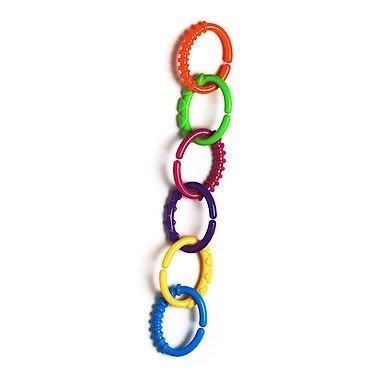 Playgro – Loopy Links – Anneaux de Dentition et de Développement – 24 Pièces