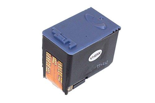 vhbw Druckerpatrone Tintenpatrone schwarz mit Chip kompatibel mit Samsung SF-370, SF-375, SF-375TP, SF370, SF375, SF375TP Ersatz für Samsung INK-M41, INK-M41V.