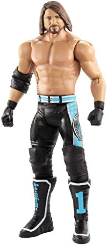 WWE - Figura de Acción Luchador AJ Styles, Juguetes Niños +6 Años (Mattel...