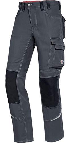 BP Arbeitshosen, Jeans-Stil mit Rückenpasse, 305,00 g/m² Verstärkte Baumwolle, mittelgrün/hellgrau ,27