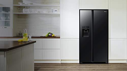 Hisense NoFrostPlus RS694N4TFE - Refrigerador lateral y congelador a lado (178,6 cm, capacidad de enfriamiento de 371 L, 42 dB, 323 kWh/año)