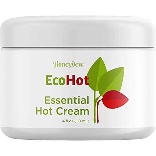 Invigorating Hot Cream Workout Enhancer - Ultra Moisturizing Hot Cream Tightening and Slimming Formula and Cellulite Cream for Thighs and Butt Body Sculpting Featuring Essential Oils for Skin Care