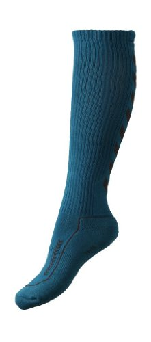 hummel Uni Socken Advanced Long Indoor, Oriental Blue/Nine Iron, 41-45, 21-059-7847