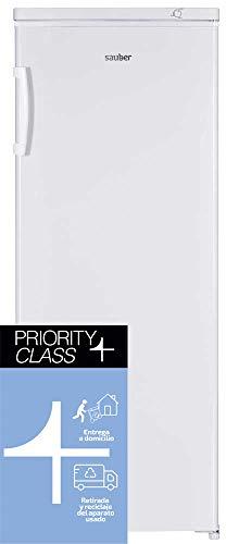 Sauber - Frigorífico vertical SSF170B - - Eficiencia energética: A+ - Alto: 170 cm - 335 litros - ENTREGA EN DOMICILIO INCLUIDA