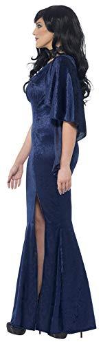 SMIFFYS Smiffy's 44339X1 - Curve Sorceress Costume Blu con Il Vestito, X
