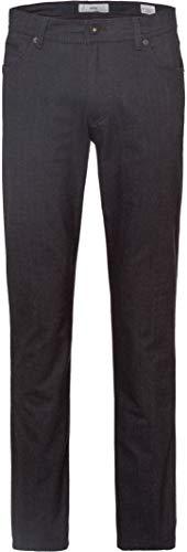 BRAX Herren Style Cooper C Woolook Flex Five Pocket Regular Fit Hose, Asphalt, W34/L32(Herstellergröße: 34/32)