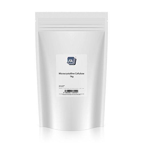 Celulosa microcristalina | Excipiente para píldora de prensa | Agente de unión de grado farmacéutico (1KG) (1KG)
