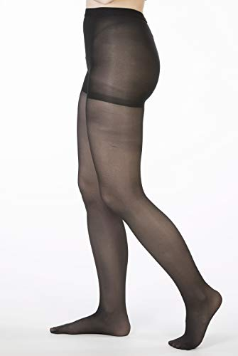 Allegro 8-15 mmHg Essential 83 Sheer Support Compression Pantyhose - Comfortable Women's Compression Hose with Closed Toe