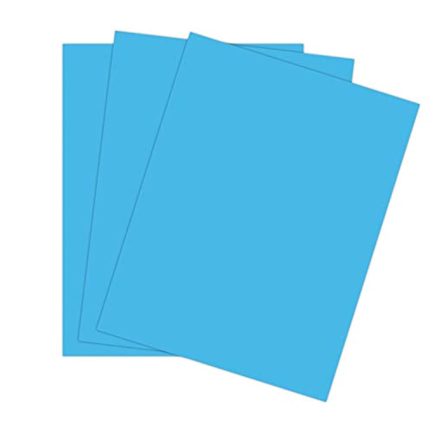 Cardstock Paper for Arts Crafts and Scrapbooking by The Stamps of Life - Pool Blue 8.5