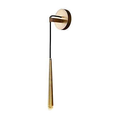 De enige goede kwaliteit Decoratie Moderne Woonkamer Slaapkamer Nachtkastje Wandlamp Persoonlijkheid Badkamer Spiegel Voor Goud Water Drop Hangende Wandlamp 30/50cm