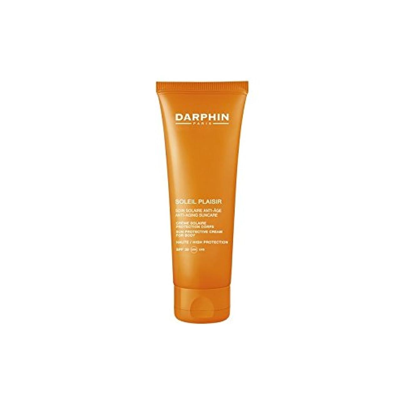 ひらめき識別する激怒Darphin Soleil Plaisir Body Cream (Pack of 6) - ダルファンソレイユプレジールボディクリーム x6 [並行輸入品]