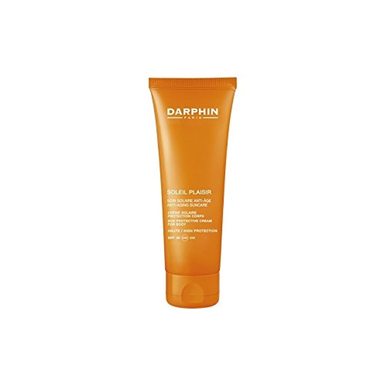 学期宿泊葉を拾うダルファンソレイユプレジールボディクリーム x4 - Darphin Soleil Plaisir Body Cream (Pack of 4) [並行輸入品]
