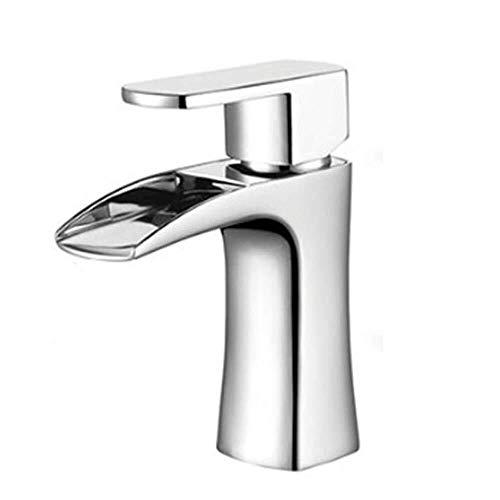 ZKAIAI Mezclador de Agua de baño Sola manija Agujero Caliente fría grifos de los lavabos de baño Cocina Cubierta montada de Mezcla Cuenca del Grifo de la Ducha Agradable