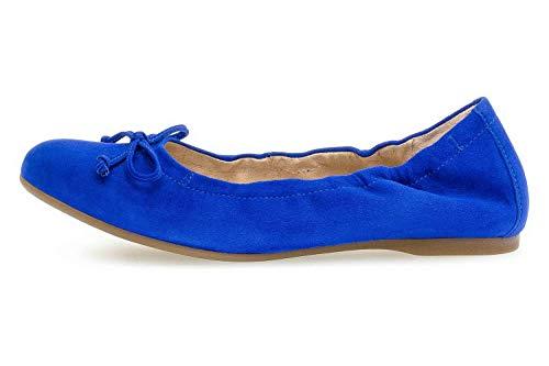 Gabor Damen Ballerina in Royalblau Größe 42 EU Blau (blau)
