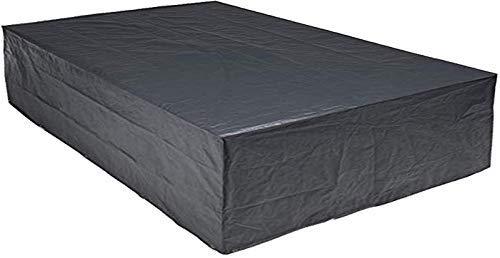 habeig Schutzhülle für Gartenmöbel 300 x 250 x 80 cm aus 140g / m² PP Woven Gewebe wasserdicht ++ für große Sitzgruppe