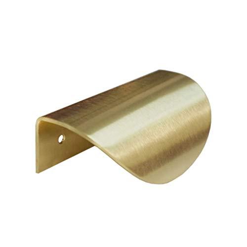 Schrank Zieht Blattgold Form Metalltür Schublade Knöpfe Küchenmöbel Griff