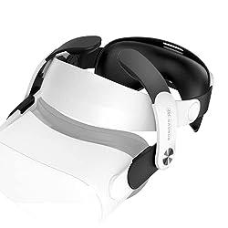Se adapta perfectamente a Oculus Quest2 y es fácil de instalar. Diseño ergonómico perfecto, mejora tu comodidad. Adopta el diseño distribuido de equilibrio de gravedad, de modo que la gravedad del producto se distribuye uniformemente en diferentes po...