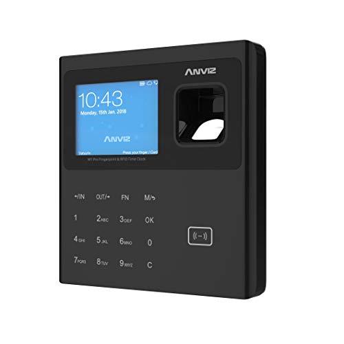 """Anviz W1 Pro Anwesenheitserkennung: biometrisch, RFID und PIN Karte, Linux, CPU 1 GHZ 2,8\"""" TFT LCD TCP/ip, Touch-Tastatur, Pendrive Anviz im Lieferumfang enthalten"""