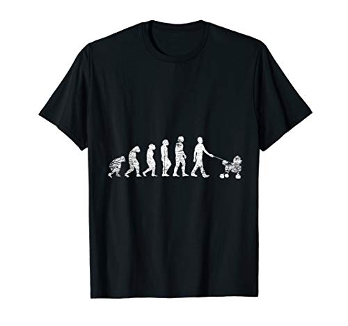 Evolution Pudel T-Shirt