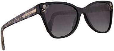Bvlgari BV8208 Sunglasses Black w Grey Gradient 56mm Lens 5018G BV 8208 Bulgari product image