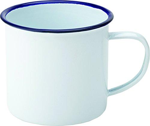 Utopía f50001Eagle taza esmaltada, 13,5oz, 38cl 3,'8cm (Pack de 6)