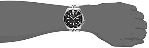 Seiko Herren Analog Automatik Uhr mit Edelstahl Armband SKX007K2 - 2