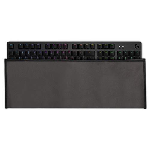 kwmobile Hülle kompatibel mit Logitech G512/G513 Carbon Tactile/Linear/GX Blue - PC Tastatur Schutzhülle - Keyboard Staub Cover Case - Dunkelgrau