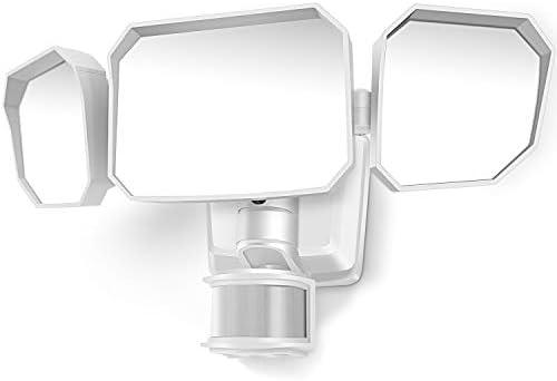 LeiDrial 5000LM LED Security Lights Motion Sensor Light Outdoor 46W Super Bright Flood Light product image