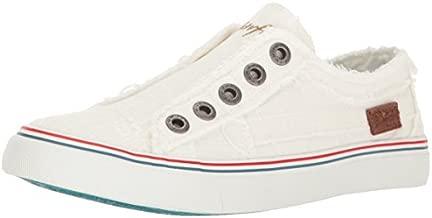Blowfish Malibu Women's Play Core Fashion Sneaker, White Cozumel Linen, 7
