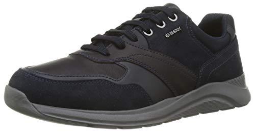 Geox Herren U Damiano C Sneaker, Navy, 42 EU
