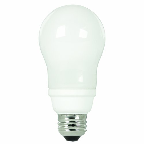 Feit Electric Tuff Kote 15 Watt, A-Shape CFL