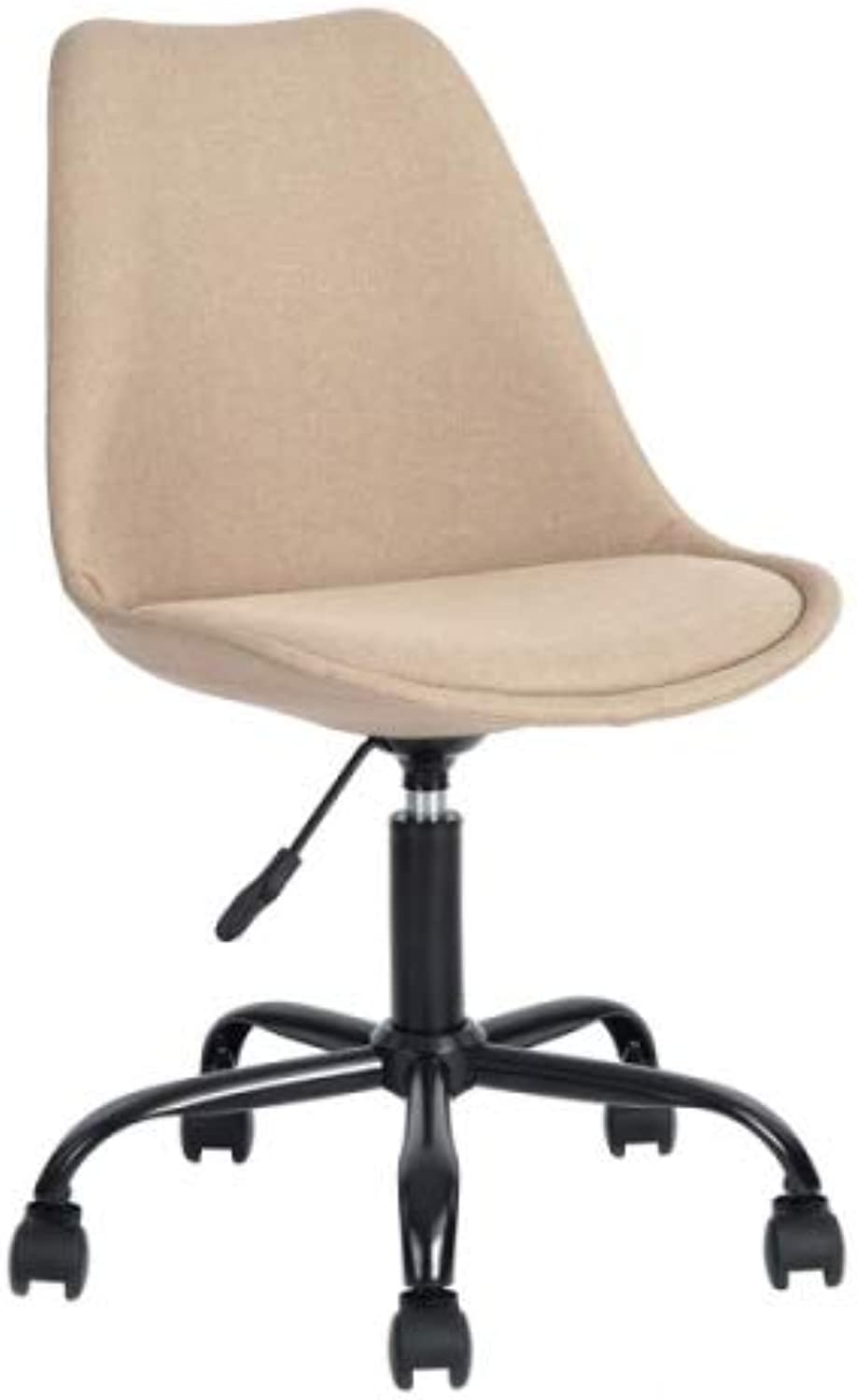 ZF Collections ZED Swivel Office Chair Stool (Beige)