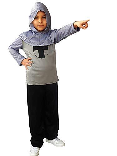 Disfraz de caballero medieval - templario - niño - disfraces infantiles - halloween - carnaval - cosplay - talla l - 7/8 años - idea de regalo original cosplay