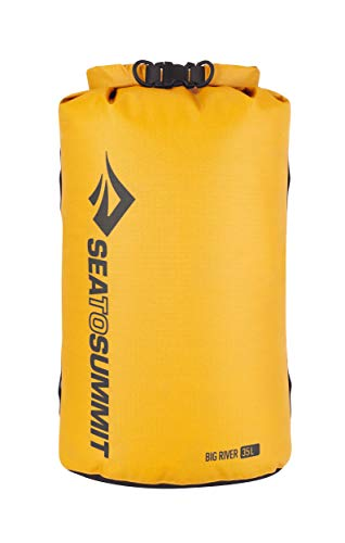 Sea to Summit Big River Dry Bag,Yellow,13-Liter
