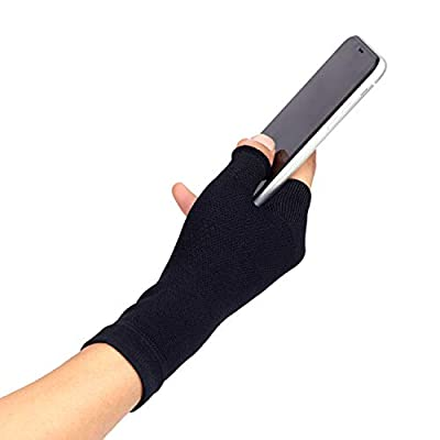 Thx4COPPER Compression Wrist Thumb Support Sleeve - Multi Zone Hand Brace for Carpal Tunnel, Wrist Pain, Strain, Arthritis, Joint Pain, Tendonitis Pain Relief - - Improve Circulation, Hand Instability