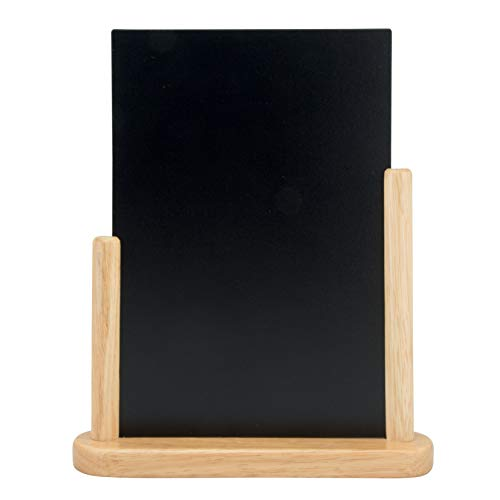 Securit Kreidetafel für den Tisch, unbeschrieben, lackiert, 21 x 30 cm