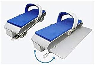 Waterflex WX-ADSP-BL- Juego de 2 Pedales de Doble Velocidad ADS-Color Azul