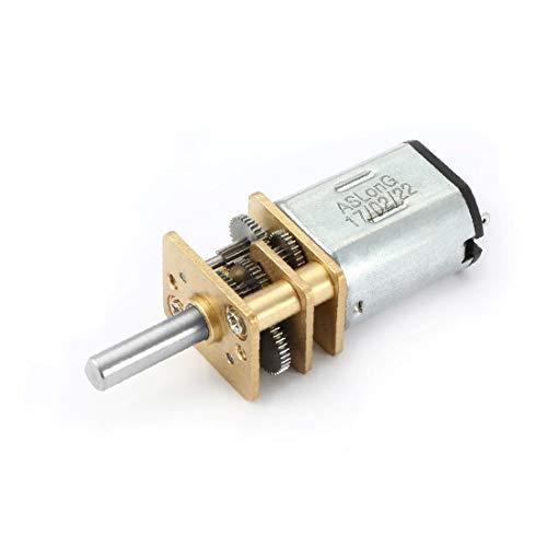 X-DREE Scatola ingranaggi mini motore DC 6V 71RPM Micro Speed Reduction con 2 terminali per motore di auto RC modello di motore giocattolo fai da te(DC 6V 71RPM Micro Reductor de Velocidad Mini Caja