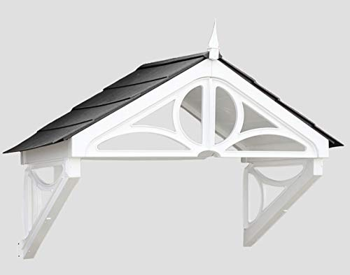 UK CANOPIES FRONT DOOR CANOPY - Crafted from UV-stabilised polymer for minimal maintenance