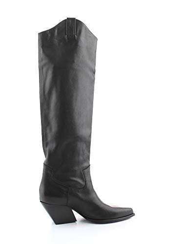 Elena Iachi Luxury Fashion dames E2020BLACK zwart laarzen | herfst winter 19